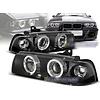OEM LINE Xenon Look Koplampen met Angel Eyes voor BMW 3 Serie E36