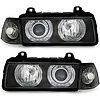 DEPO Xenon look Headlights with Angel Eyes for BMW 3 Series E36