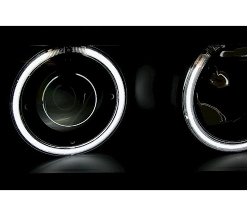 Xenon Look Koplampen met CCFLAngel Eyes voor BMW 3 Serie E36