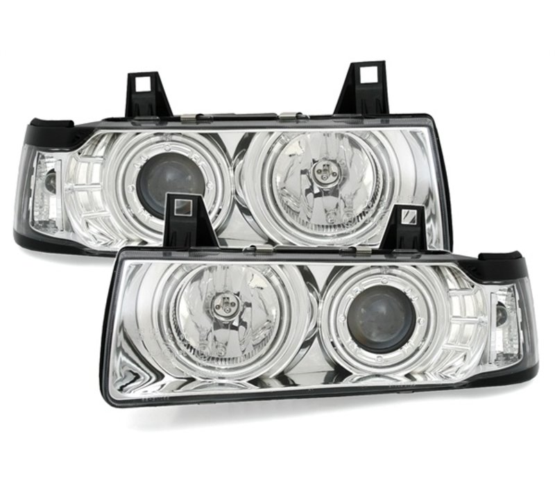Xenon look Headlights with CCFLAngel Eyes for BMW 3 Series E36