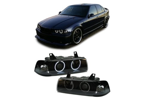 OEM LINE Xenon look Headlights with CCFLAngel Eyes for BMW 3 Series E36