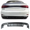 OEM LINE® S3 Look Diffuser Platinum gray for Audi A3 8V