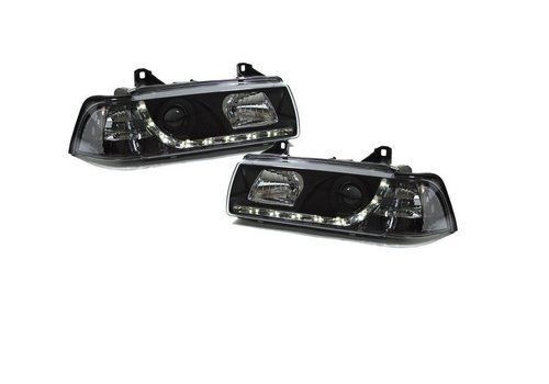 OEM LINE Xenon look Headlights with Devil Eyes for BMW 3 Series E36