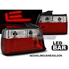 OEM LINE Red/White LED BAR Tail Lights for BMW 3 Series E36