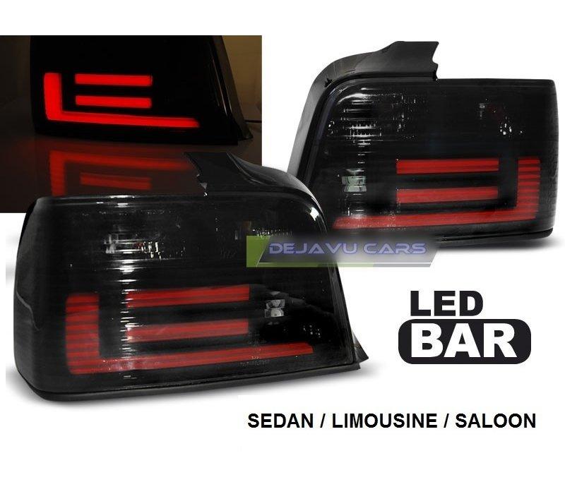 Smoke LED BAR Rückleuchten für BMW 3 Serie E36