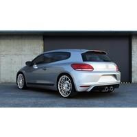 R20 Look Diffusor für Volkswagen Scirocco 3