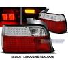 DEPO Rood/Wit LED Achterlichten voor BMW 3 Serie E36