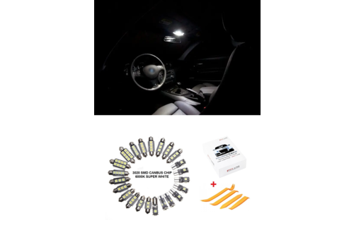 OEM LINE LED Interior Lights Package for BMW 1 Series E82