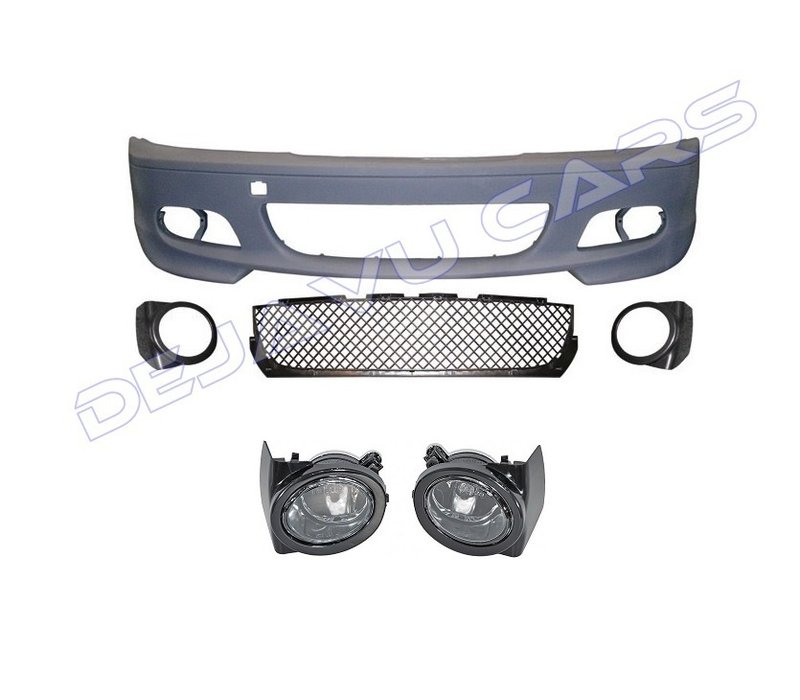 M Look Front bumper for BMW 3 Serie E46