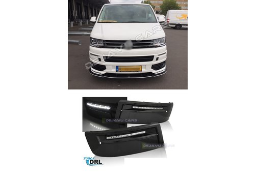 OEM LINE LED Daytime Running Lights for Volkswagen Transporter T5, Caravelle & Multivan