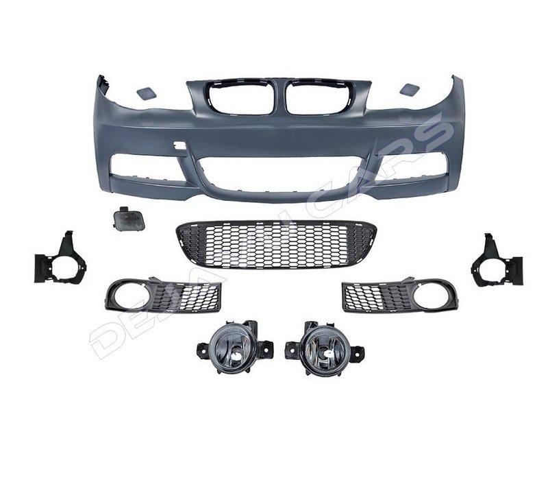 M-Tech Look Front bumper for BMW 1 Series E82 / E88
