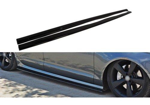 Maxton Design Seitenschweller Diffusor für Audi A6 C7 4G S line / S6