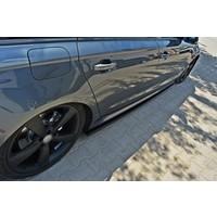 Seitenschweller Diffusor für Audi A6 C7 4G S line / S6