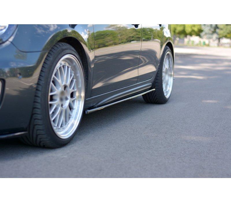 Side skirts Diffuser voor Volkswagen Golf 6 GTI