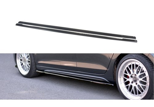 Maxton Design Side skirts Diffuser voor Volkswagen Golf 6 GTI
