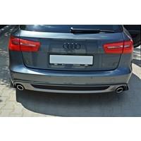 Aggressive Diffusor für Audi A6 4G C7 Avant S line
