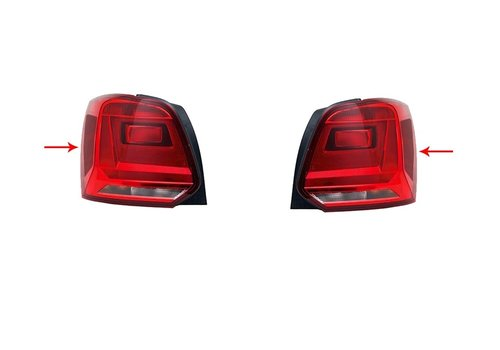 DEJAVU CARS - OEM LINE 6C GTI Look Verduisterd Achterlichten voor Volkswagen Polo 6R / 6C