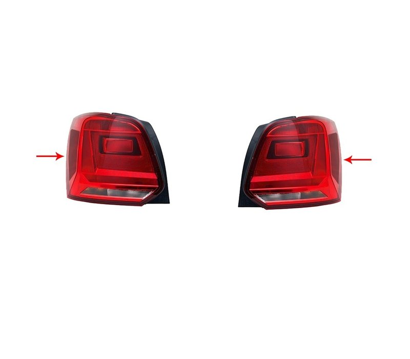 6C GTI Look Darkened Tail Lights for Volkswagen Polo 6R / 6C