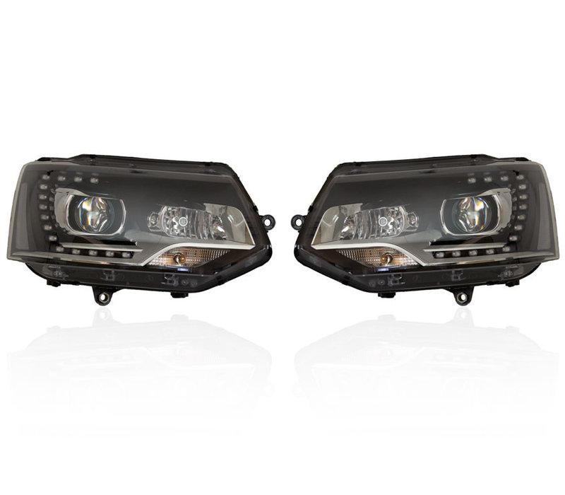 D3S LED Bi-Xenon Headlights for Volkswagen Transporter T5