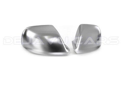 OEM LINE Matt Chrome Mirror Caps for Audi Audi Q5, SQ5, Q7, SQ7, S line