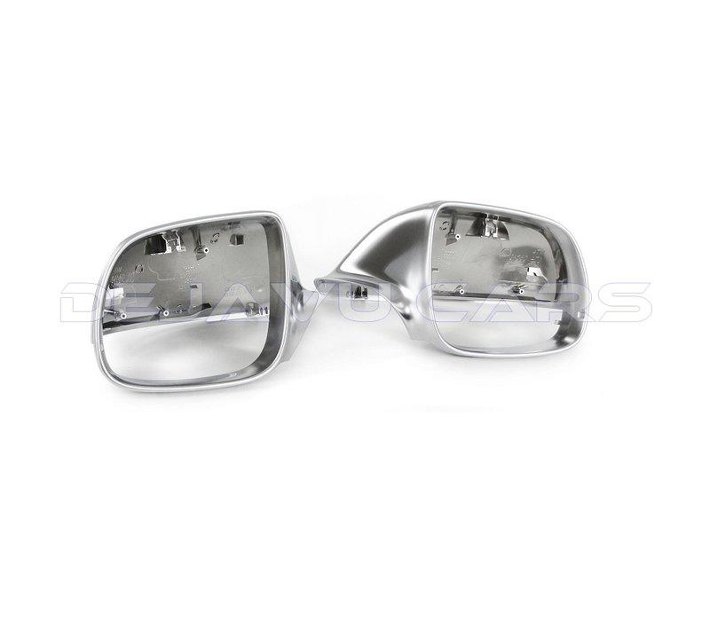Matt Chrome Mirror Caps for Audi Audi Q5, SQ5, Q7, SQ7, S line