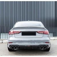 Heckspoiler lippe für Audi A3 8V, S3, RS3, S line