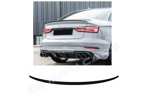 OEM LINE Achterklep spoiler lip voor Audi A3 8V, S3, RS3, S line
