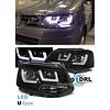 OEM LINE U-LED Xenon Look Scheinwerfer für Volkswagen Transporter T5