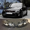 DEPO R20 / GTI Bi-Xenon Look LED Headlights for Volkswagen Golf 6