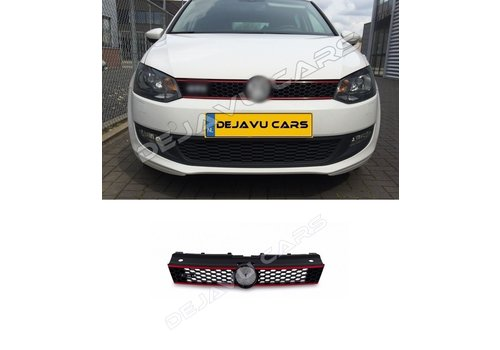 OEM LINE GTI Look Front Grill for Volkswagen Polo 5 (6R/6C)