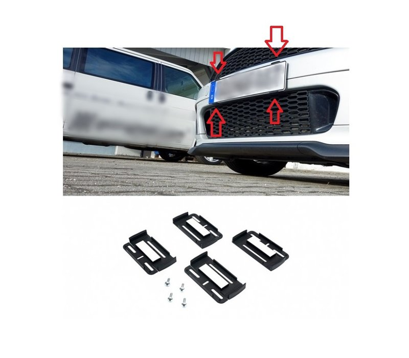 Simple fix Frameless license plate holder - Made in Germany