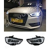 DEPO Bi Xenon Look LED Scheinwerfer für Audi A3 8V