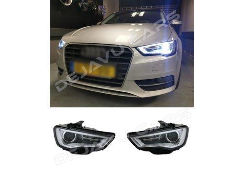 DEPO Bi Xenon Look LED Headlights for Audi A3 8V