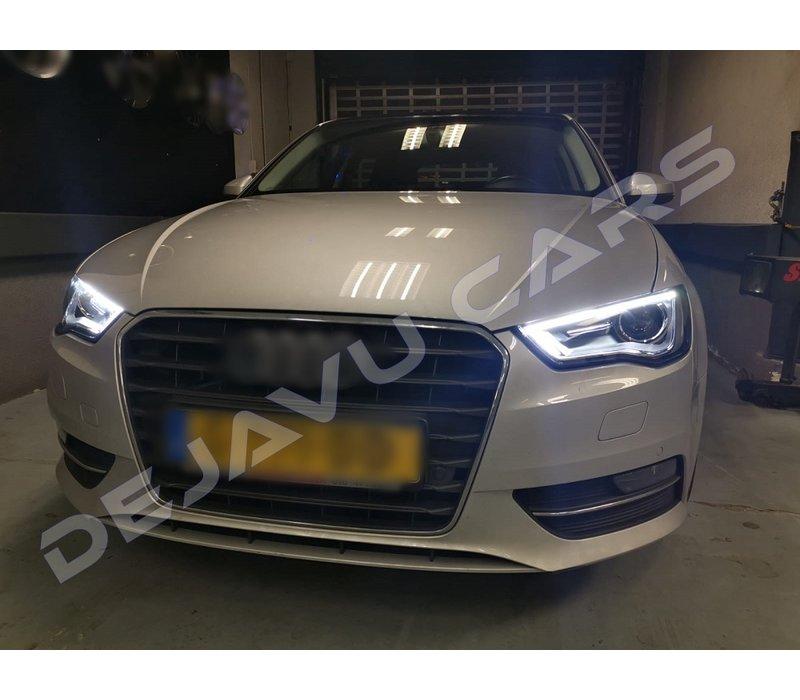 Bi Xenon Look LED Headlights for Audi A3 8V