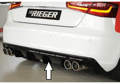 Rieger S3 look Diffuser voor Audi A3 8V