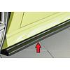 Rieger Side skirts Diffuser voor Audi S3 8V / A3 8V S line Sportback