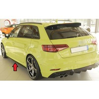 Side skirts Diffuser voor Audi S3 8V / A3 8V S line Sportback