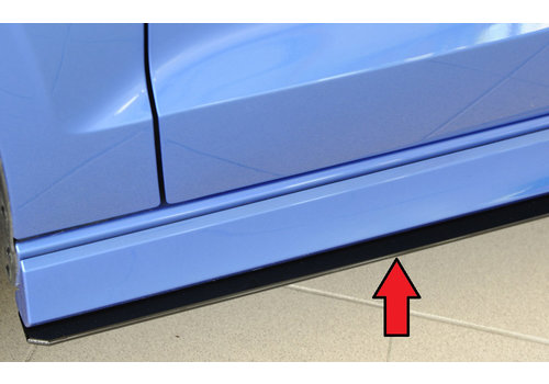 Rieger Side skirts Diffuser for Audi RS3 8V / S3 8V / A3 8V S line Saloon