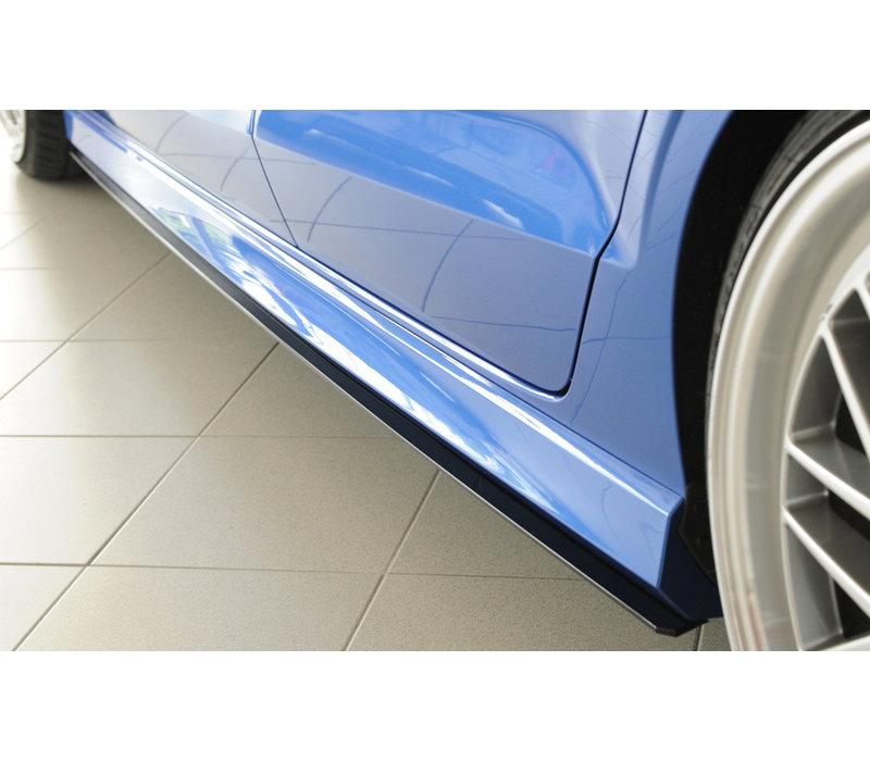 Seitenschweller Diffusor für Audi RS3 8V / S3 8V / A3 8V S line Limousine