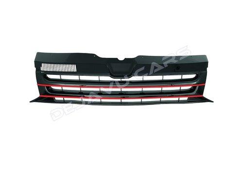 OEM LINE Front Grill (Badgeless) voor Volkswagen Transporter T5