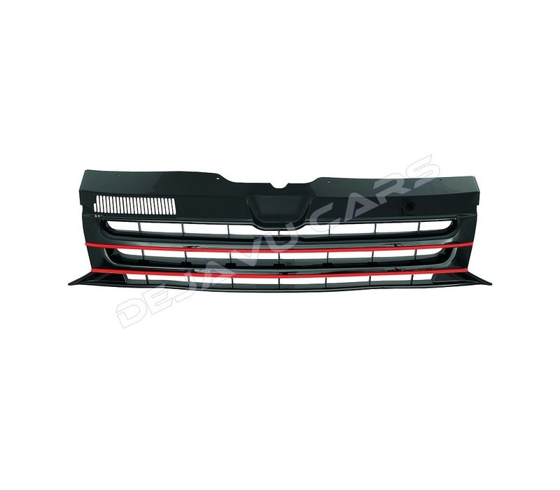 Front Grill (Badgeless) for Volkswagen Transporter T5