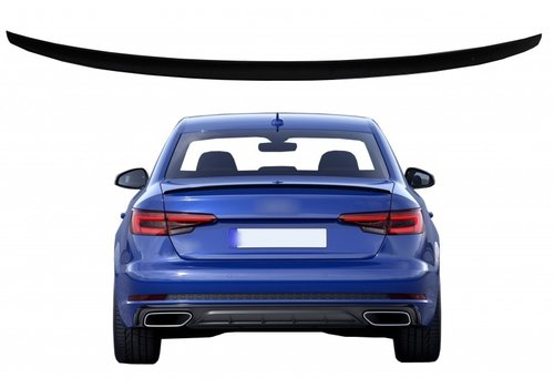OEM LINE Tailgate spoiler lip for Audi A4 B9 Saloon