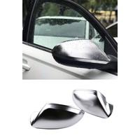 Mat Chrome Spiegelkappen voor Audi A6 C7, S6, S line, RS6