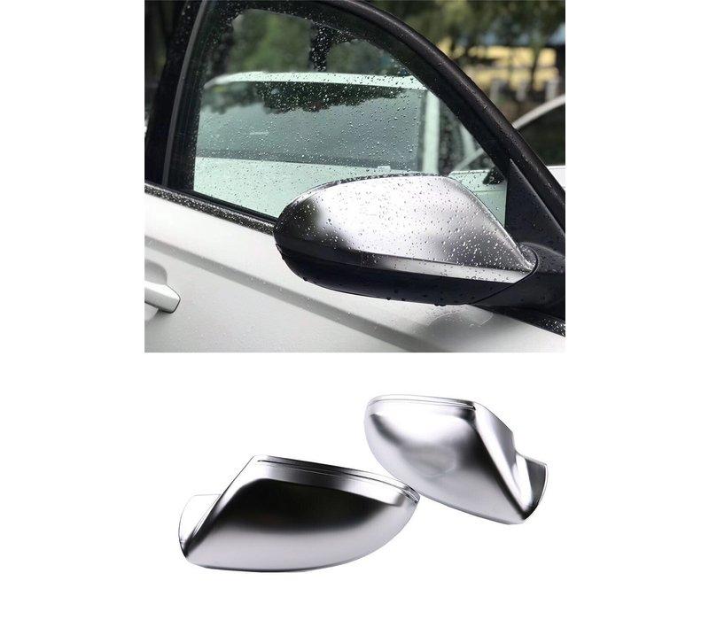 Matt Chrome Spiegelkappen für Audi A6 C7, S6, S line, RS6