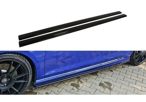 Maxton Design Side skirts Diffuser voor Volkswagen Golf 7 R