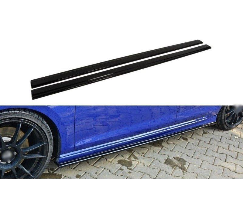 Seitenschweller Diffusor für Volkswagen Golf 7 R