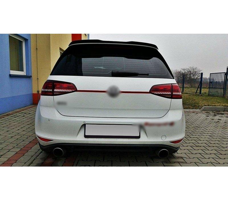 Dachspoiler Extension für Volkswagen Golf 7 R / GTI / GTD
