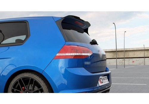 Maxton Design Roof Spoiler Extension for Volkswagen Golf 7 R / GTI / GTD