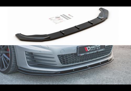 Maxton Design Front Splitter V.1 für Volkswagen Golf 7 GTI / GTD