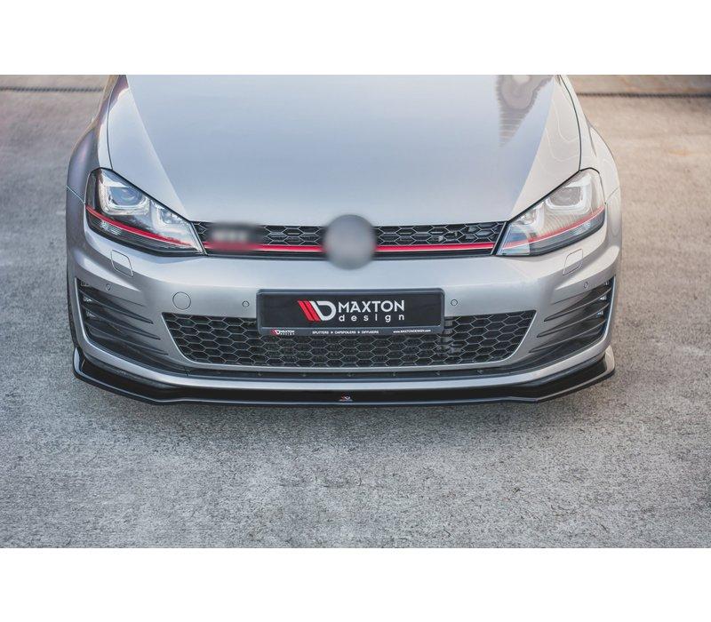 Front Splitter V.2 for Volkswagen Golf 7 GTI / GTD
